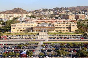 campus UMA tráfico aparcamientos